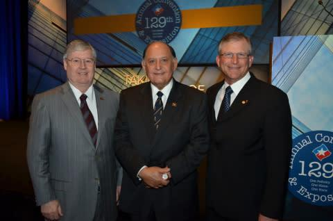 Commerce Bank President and CEO Ignacio Urrabazo was inducted May 3 as chairman of the Texas Bankers ...