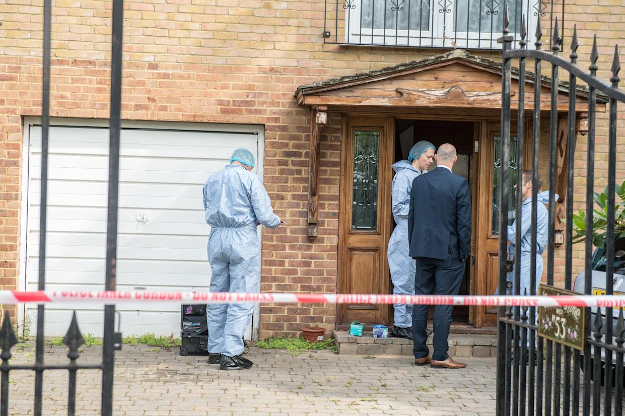 <em>Discovered – Miss Dhookran's body was found in the deep freezer after the other victim raised the alarm</em>