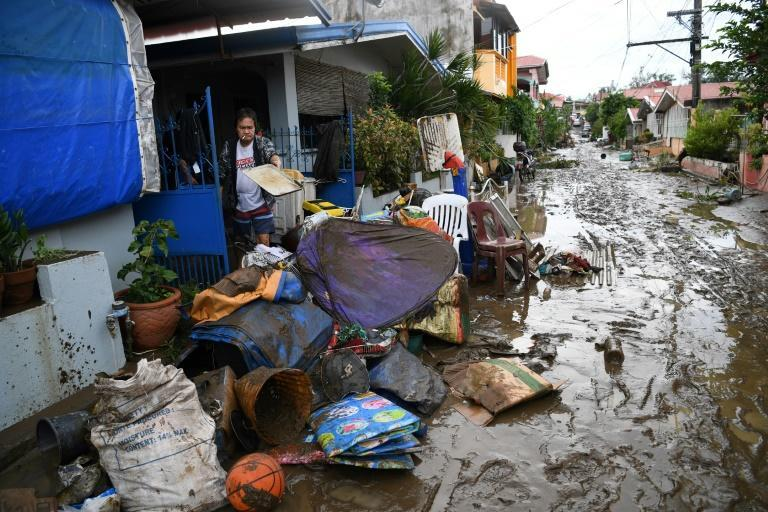 The Philippines is hit by an average of 20 storms and typhoons every year