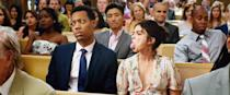 """<p>Mara (Sarah Hyland) and Jake's (Tyler James Williams) new relationship is put to the ultimate test when they discover they've been invited to seven weddings within one year. Between jealous ex-partners, potential mothers-in-law, and nosy siblings, they'll be lucky if they make it to <a class=""""link rapid-noclick-resp"""" href=""""https://www.popsugar.co.uk/tag/Wedding"""" rel=""""nofollow noopener"""" target=""""_blank"""" data-ylk=""""slk:wedding"""">wedding</a> number three in one piece.</p> <p><a href=""""http://www.amazon.com/Wedding-Year-Sarah-Hyland/dp/B07WZW3RHK"""" class=""""link rapid-noclick-resp"""" rel=""""nofollow noopener"""" target=""""_blank"""" data-ylk=""""slk:Watch The Wedding Year on Amazon Prime."""">Watch <strong>The Wedding Year</strong> on Amazon Prime.</a></p>"""