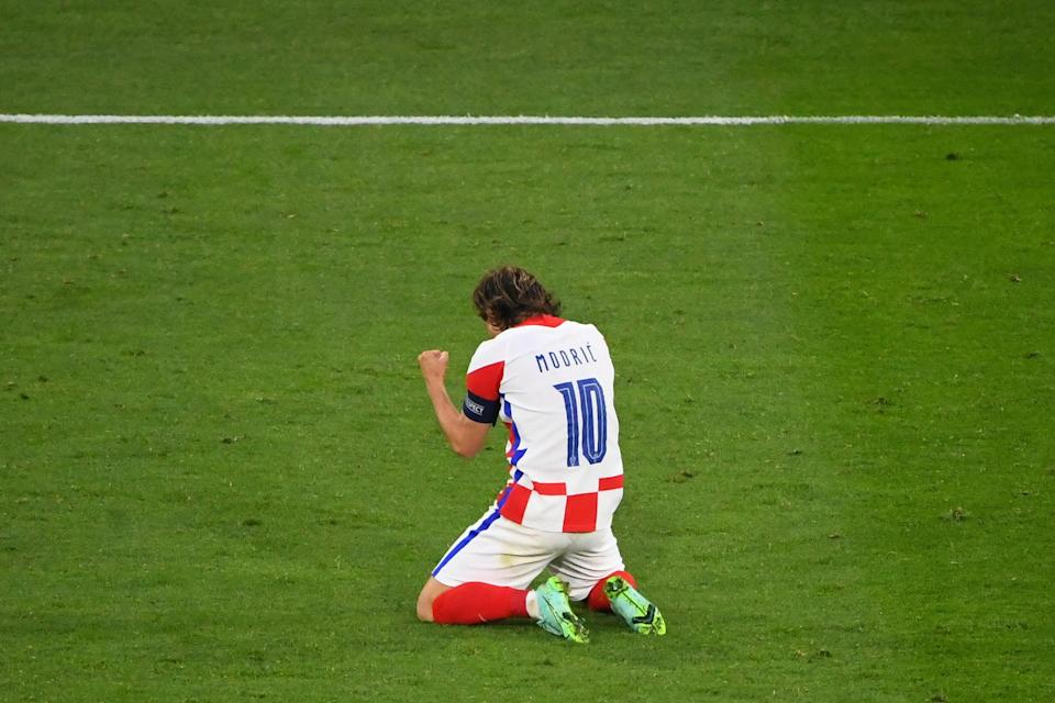 Modric's performance was crucial in Croatia's victory (POOL/AFP via Getty Images)