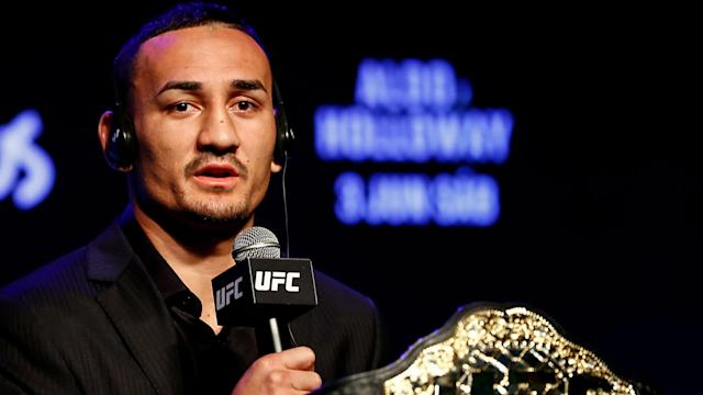 Max Holloway has been on a tear since losing to Conor McGregor on Aug. 17, 2013. (Getty)