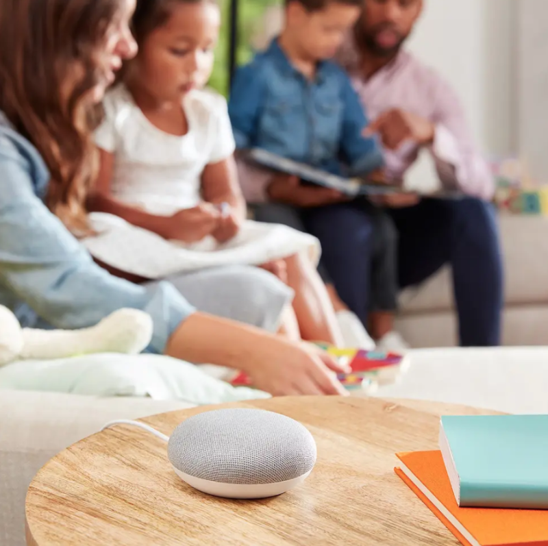 Get the Google Home Mini for less than $40. (Photo: Walmart)