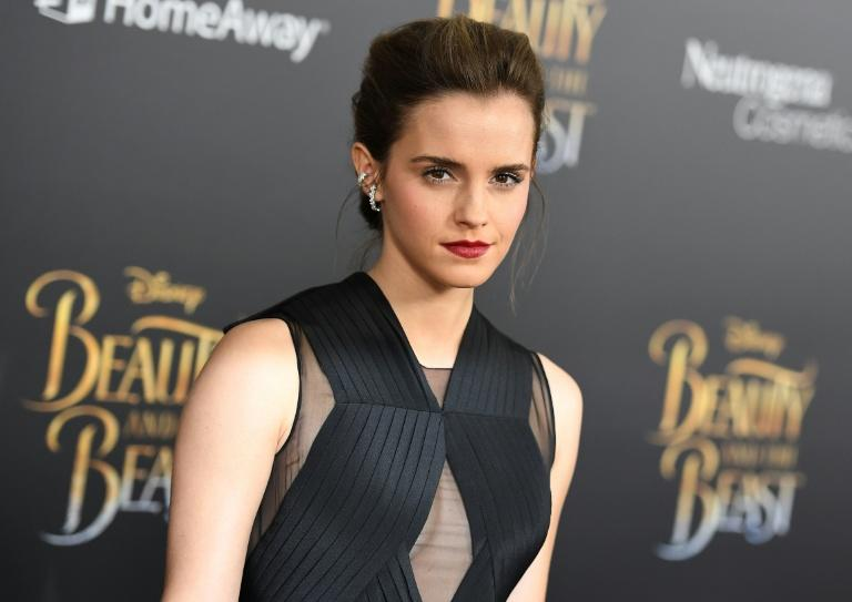 Actress Emma Watson attends the New York special screening of Disney's live-action adaptation 'Beauty and the Beast' on March 13, 2017