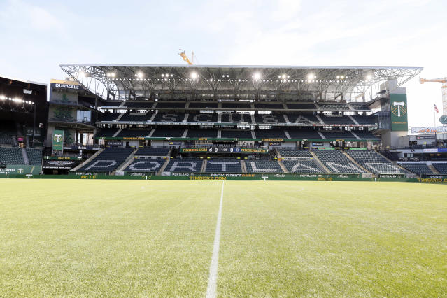 The Portland Timbers host Minnesota United on Sunday as concerns about the coronavirus in the region grow. (Soobum Im/Getty Images)