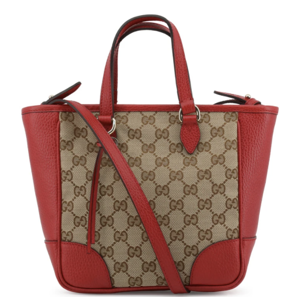 PHOTO: Robinsons. Gucci Women's Tote Classic Red/Brown Handbag, $1,469.99 (was $1,960.20)