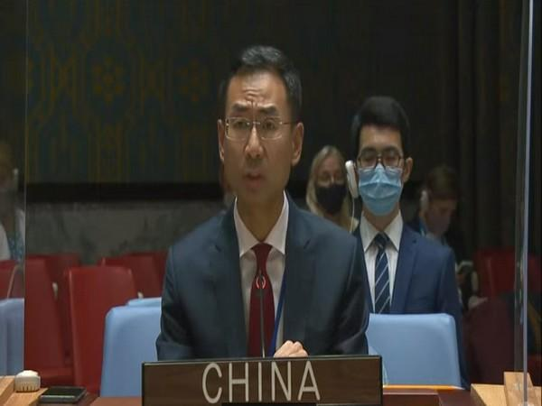 Chinese representative at the UNSC
