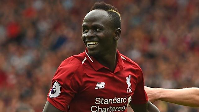 Sadio Mane has been videoed helping clean his local mosque