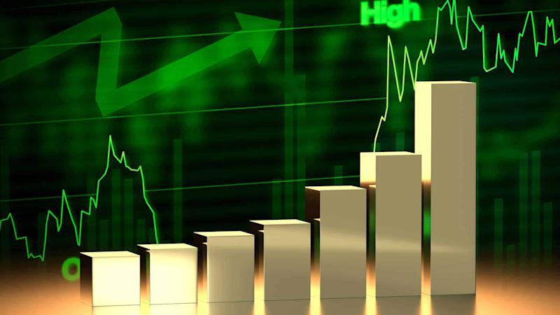 invest trade chart up