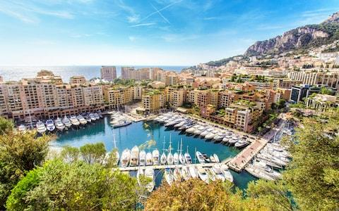 <span>Monaco's pristine streets are paved with Michelin-starred restaurants and designer shops, while the superyacht-lined harbour is home to late-night bars</span> <span>Credit: PABLO POLA DAMONTE </span>