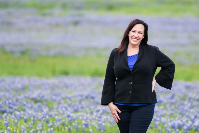 Mary Jennings Hegar thinks this might be the year a Democrat can beat longtime Rep. John Carter. (Photo: Courtesy MJ for Texas)