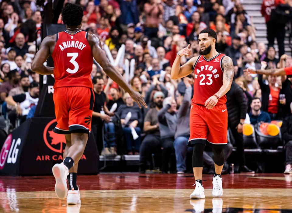 Three of Toronto's core pieces have cracked SI's 2022 Top 100 NBA players list. (Getty)