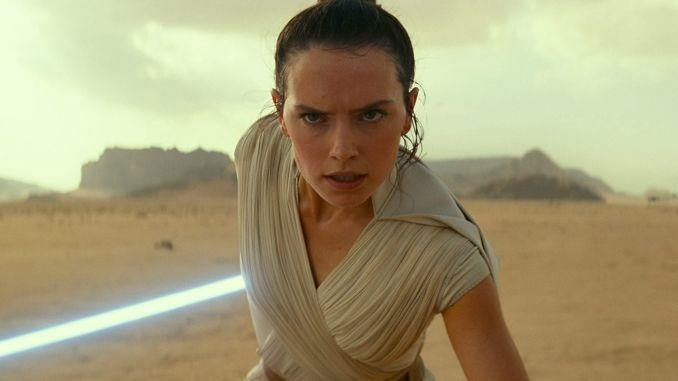 Daisy Ridley as Rey in the trailer for 'Star Wars: The Rise of Skywalker'.