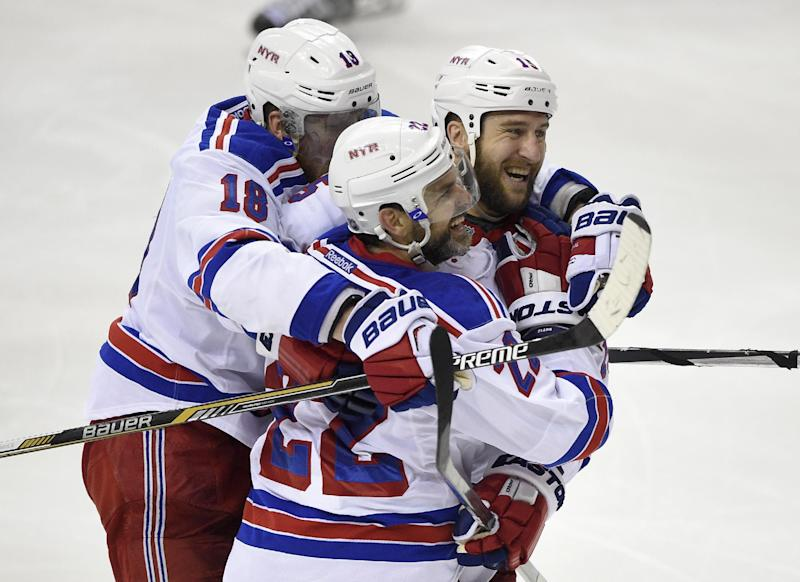 Kreider scores 2, Rangers hold off Caps 4-3 to force Game 7