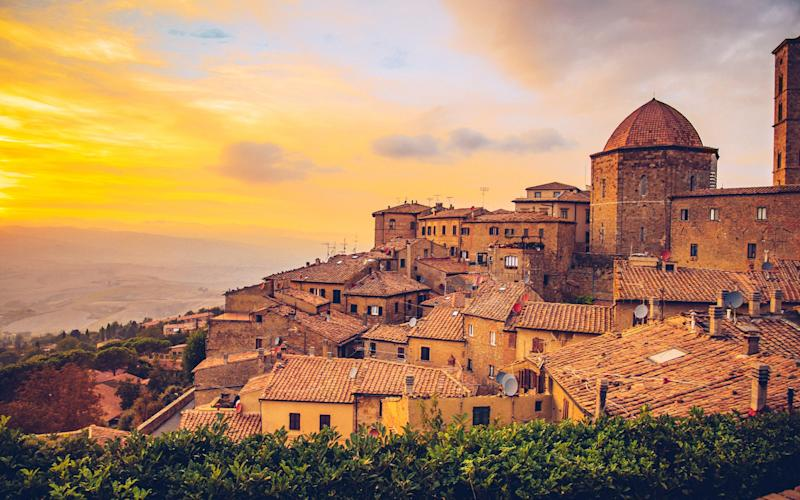 Tuscany is full of spectacular hill towns with gentle rhythms and sweet piazzas