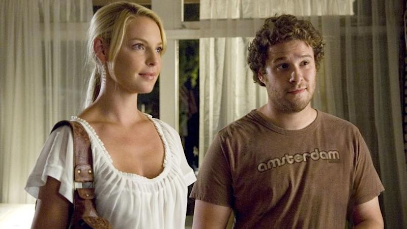 Katherine Heigl and Seth Rogen in Knocked Up