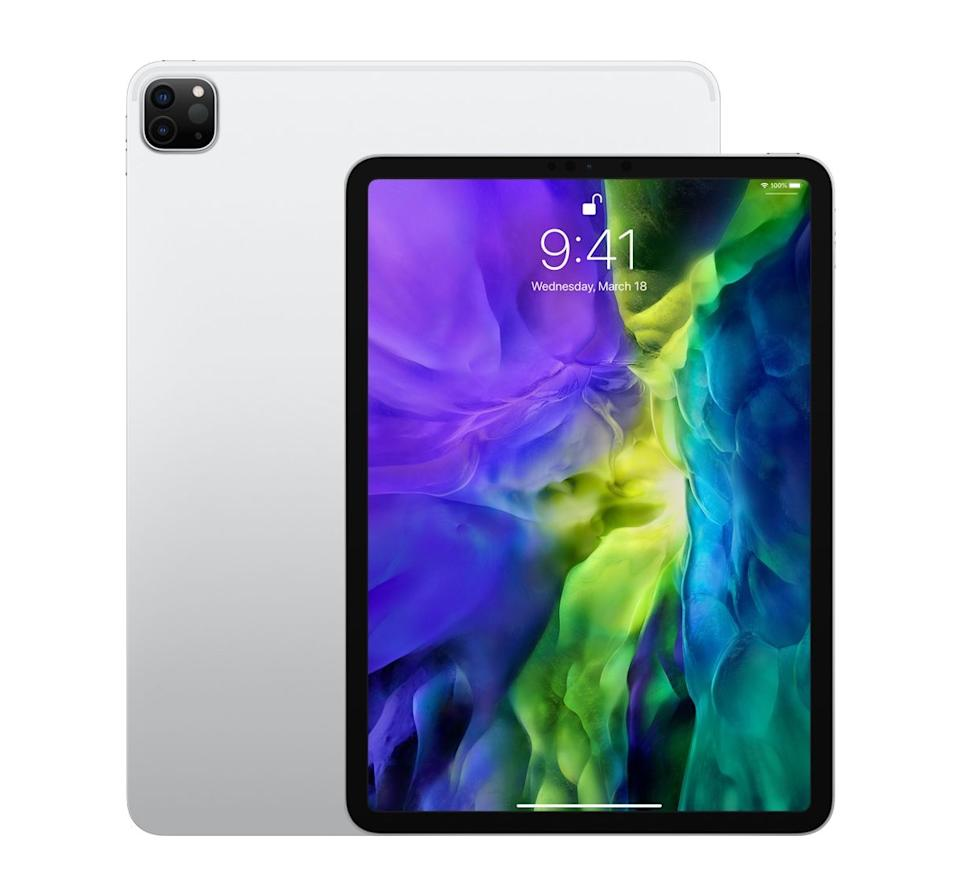 Apple's iPad Pros are expected to get some big upgrades during Apple's April 20 event. (Image: Apple)
