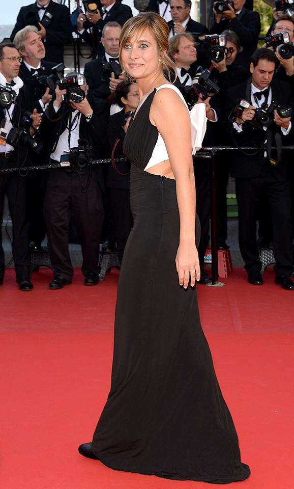 CANNES, FRANCE - MAY 21:  Julie De Bona from the film 'Ne Quelque Part' attends the Premiere of 'Cleopatra' during the 66th Annual Cannes Film Festival at the Palais des Festivals on May 21, 2013 in Cannes, France.  (Photo by Dominique Charriau/WireImage)