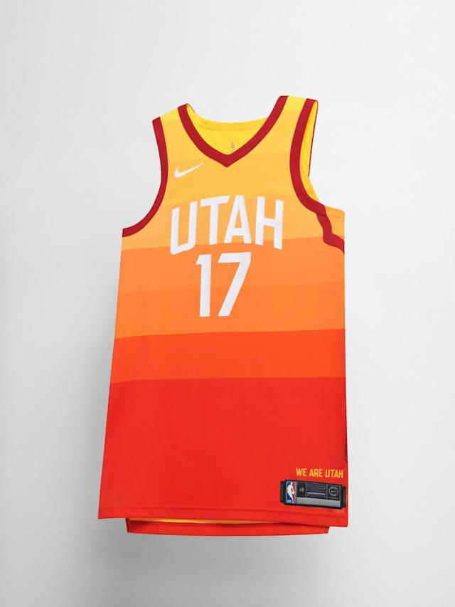 Utah Jazz City uniform. (Nike)
