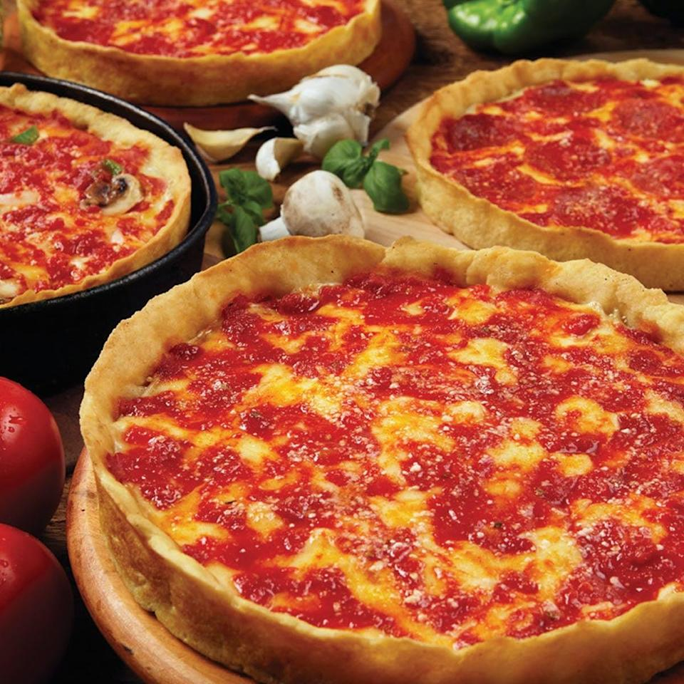 <p><span>Lou Malnati's Deep Dish Pizzas</span> ($67 for two) are made with an original five-decade-old deep-dish pizza recipe.</p>