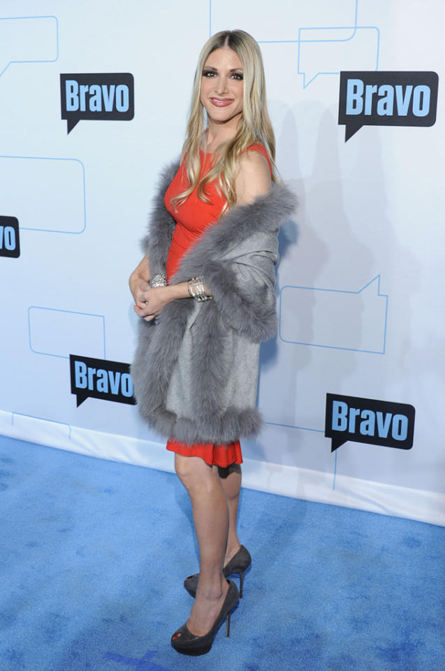 Lori Zaslow attends Bravo's 2012 Upfront Event at Center 548 on April 4, 2012 in New York City.