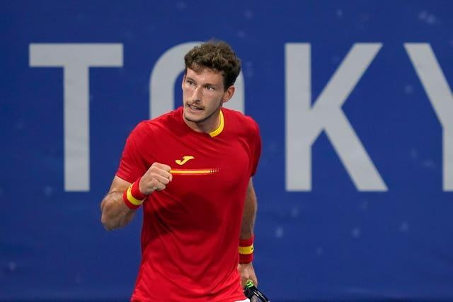 Pablo Carreno Busta leaves Tokyo with a well deserved bronze medal
