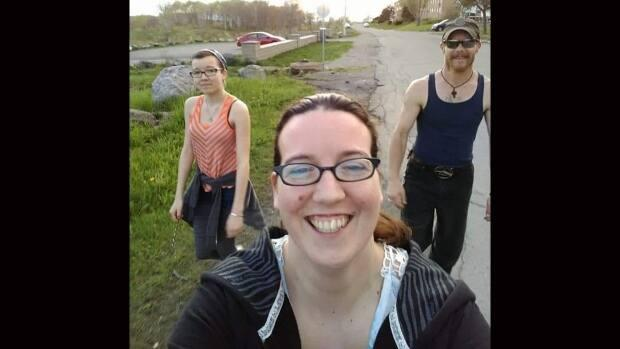 From left, Emily Tuck, Jolene Oliver and Aaron Tuck are shown in a family handout photo. The family from Portapique, N.S. were among the victims of the mass killing in Nova Scotia last year.  (Tammy Oliver-McCurdie/The Canadian Press - image credit)