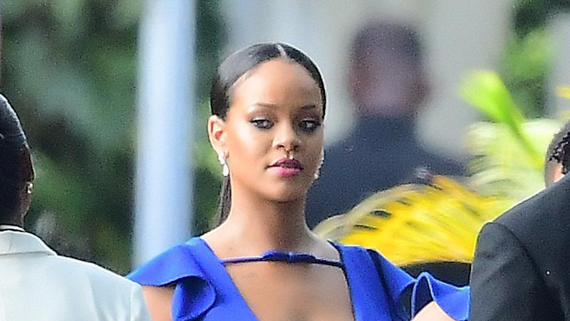 Rihanna Is A Bridesmaid At Friend S Wedding In Barbados