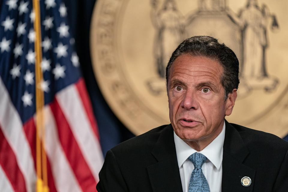 Retired doctors being drafted as Covid surge pushes New York hospitals to capacity (Getty Images)