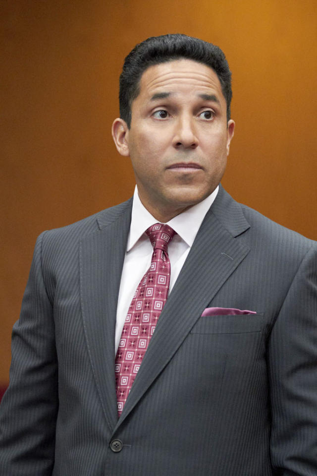 "Oscar Nunez stars as Jose Baez in the Lifetime Original Movie, ""Prosecuting Casey Anthony."""