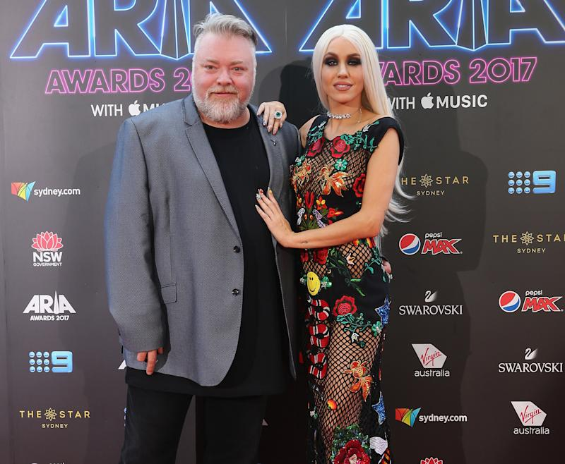 Kyle Sandilands and Imogen Anthony split after eight years. Photo: Getty Images