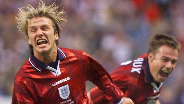 <p>Just imagine England confidently dispatching South American heavyweights by a two-goal margin in a tournament these days. There isn't enough bunting in the world to cover the celebrations.</p> <br><p>Darren Anderton got things started in Lens with cracking top corner finish, before David Beckham hit the now patented David Beckham free kick (the first England ever scored at a World Cup) to make it 2-0 inside half an hour.</p> <br><p>Colombia, captained by Carlos Valderrama, had plenty of chances but couldn't find a way back in as the Three Lions reached 1998 World Cup knockout stage with panache and hope.</p> <br><p>Watch the highlights back as Sol Campbell goes on a frankly outrageous 60-yard run past five men, before being tackled on the edge of the penalty area. It is scientifically impossible to even think about Phil Jones doing that. </p>