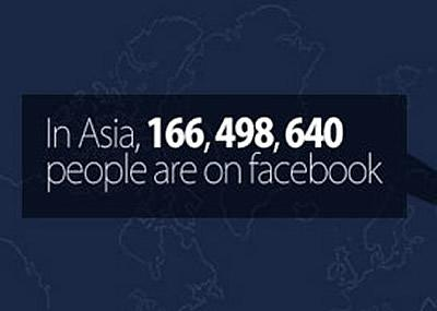 Facebook makes progress in Asia. (Penn-Olson)