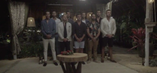 Something about nine sweaty blokes in their 30s standing shoulder to shoulder having no power brings me a lot of joy. There's an affirmation for you. Source: Ten