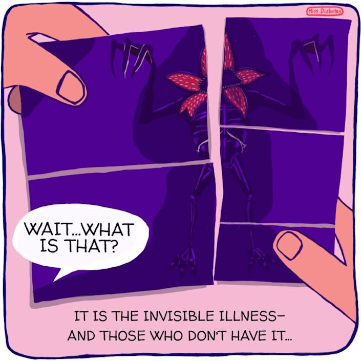 wait, what is that? it is the invisible illness and those who dont have it