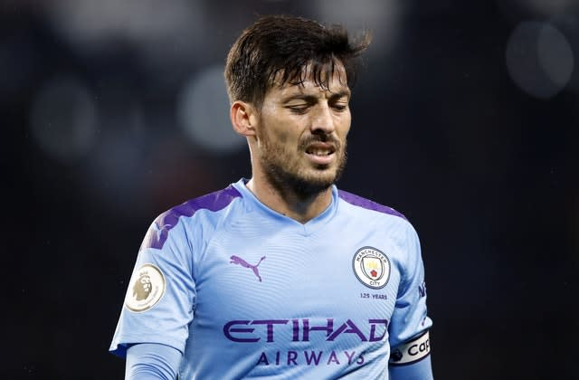David Silva is moving on from Manchester City at the end of the season (Martin Rickett/PA)
