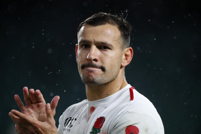LONDON, ENGLAND - NOVEMBER 10: Danny Care of England during the Quilter International match between England and New Zealand at Twickenham Stadium on November 10, 2018 in London, United Kingdom. (Photo by Lynne Cameron/Getty Images)
