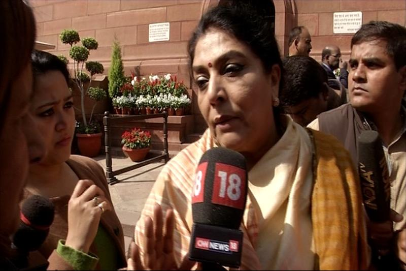 Renuka sends notice to Rijiju