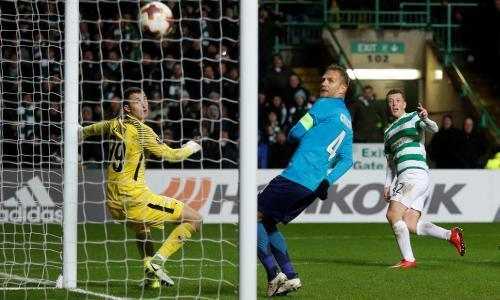 Celtic gain narrow advantage over Zenit with Callum McGregor's late goal
