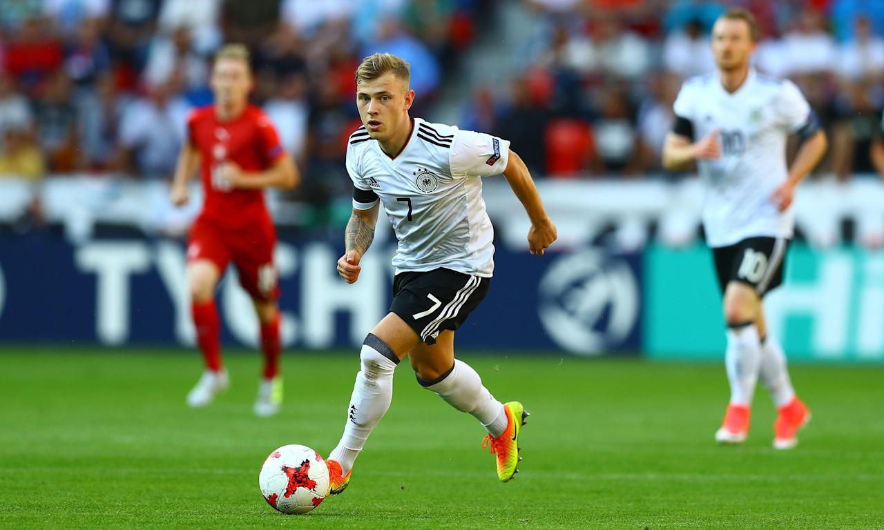 Might Germany's Max Meyer be turning out in the crisp white of Tottenham next season?