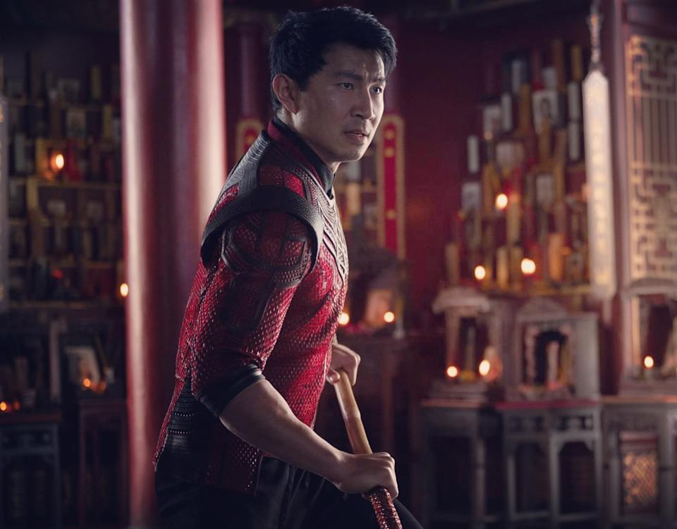 Simu Liu in Shang-chi And The Legend Of The Ten Rings. (Still: Disney)