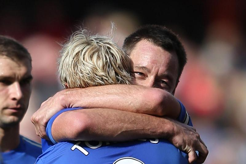Terry and Torres enjoyed success together at Chelsea: Getty Images
