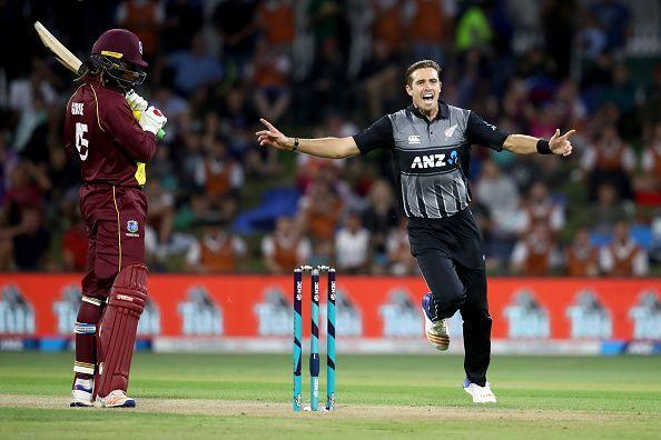 New Zealand v West Indies - 3rd T20