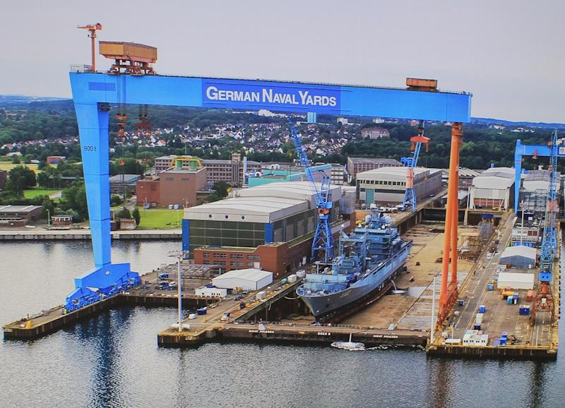 Industry protest ensnares Germany's multibillion-dollar combat ship