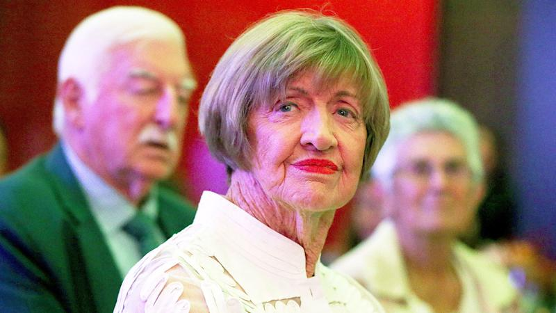 Seen here, Margaret Court's views on same-sex marriage and transgender athletes have often sparked outrage.