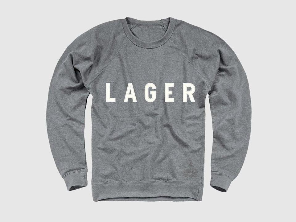 <p>Keep him cozy all winter long with this <span>Lager Sweatshirt</span> ($45) - that is, if you don't borrow it for yourself first. </p>