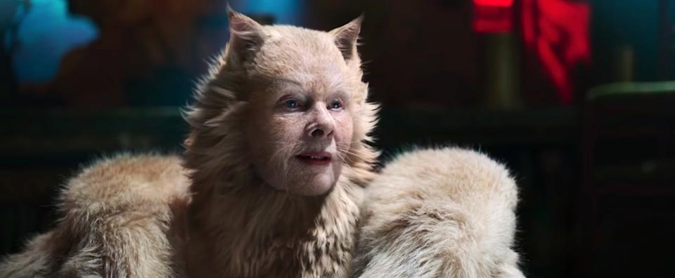 Judi Dench in 'Cats' (Universal)