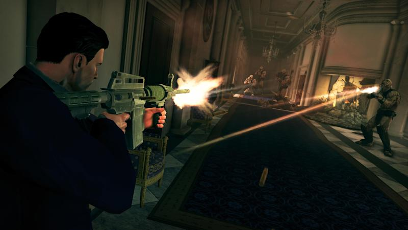 """This undated publicity photo released by Deep Silver/Volition Inc. shows a scene from the video game, """"Saints Row IV."""" (AP Photo/Deep Silver/Volition Inc.)"""