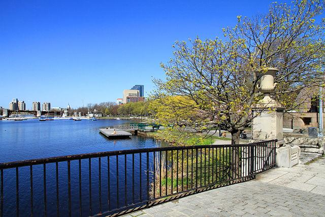 <p>That the River Charles in Boston, United States was heavily polluted was a given, till the Environment Protection Agency (EPA) stepped in to clean it up. In 1995, when the EPA analysed and graded the River, it received a D.<br />The EPA then launched the Clean Charles Initiative in 1995, which found out that that there were problems in the connections between the pipes that carried sewage and those that carried clean water to the river. Every time a storm broke out, the water and sewage would get flushed into the River and its tributaries, through old drainage pipes. Renovations to the municipal sewage systems, enforced by EPA, helped reduced sewage-rain mix up by 99.5 per cent.<br />A local NGO, Charles River Watershed Association (CRWA) which has partnered with the EPA, conducts monthly readings on the bacteria levels across 37 locations, while volunteers also perform spot checks at major recreational areas which are located near the banks. In 2015, the EPA measured the River's grade to be B+, safe for boating and safe for swimming 54 per cent of the time. EPA's aim is to increase the number of safe for swimming days.<br /><em>Image credit: By Ingfbruno – Own work, CC BY-SA 3.0, https://commons.wikimedia.org/w/index.php?curid=27577227</em> </p>