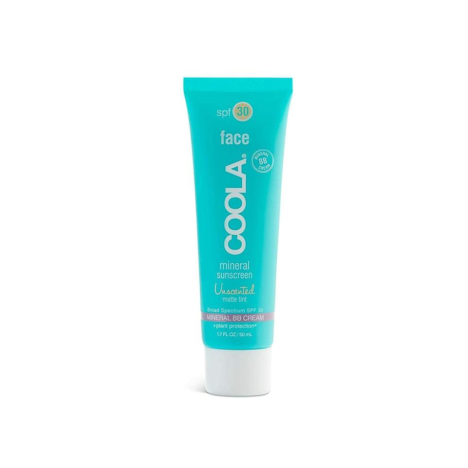 """<p><strong>Coola Suncare</strong></p><p>amazon.com</p><p><strong>$36.00</strong></p><p><a href=""""https://www.amazon.com/dp/B006HI60EY?tag=syn-yahoo-20&ascsubtag=%5Bartid%7C10065.g.32853001%5Bsrc%7Cyahoo-us"""" rel=""""nofollow noopener"""" target=""""_blank"""" data-ylk=""""slk:Shop Now"""" class=""""link rapid-noclick-resp"""">Shop Now</a></p><p>In addition to looking for safe ingredients in your sunscreen, you should also look for those that are reef-safe. This <a href=""""https://www.amazon.com/dp/B006HI60EY?tag=syn-yahoo-20&ascsubtag=%5Bartid%7C10065.g.32853001%5Bsrc%7Cyahoo-us"""" rel=""""nofollow noopener"""" target=""""_blank"""" data-ylk=""""slk:formula from COOLA"""" class=""""link rapid-noclick-resp"""">formula from COOLA</a> offers both. This little bottle is infused with rose hip seed oil, plankton extract, and shea butter to keep your skin looking vibrant and moisturized. </p>"""